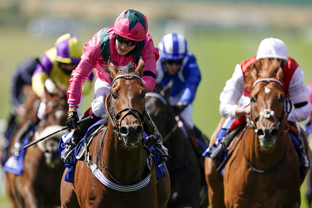 Mayson's son, Oxted maintains the family tradition by winning the Group 1 July Cup at Newmarket.